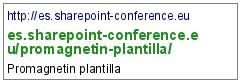 http://es.sharepoint-conference.eu/promagnetin-plantilla/